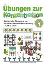 Arbeitsblätter für die Vorschule - Kleine Schule