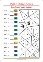 mathematik arbeitsbl tter f r die 1 klasse kleine schule. Black Bedroom Furniture Sets. Home Design Ideas