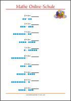 Mathematik Arbeitsblätter Für Die 1 Klasse Kleine Schule