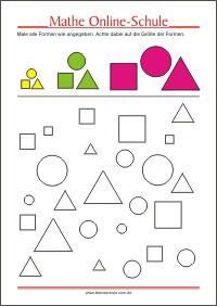 Mathematik Arbeitsblätter für die 1. Klasse - Kleine Schule