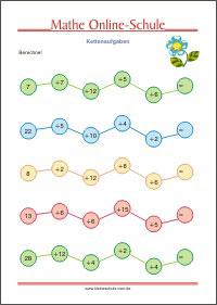 Mathematik Arbeitsblätter Für Die 2 Klasse Kleine Schule