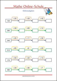 Mathematik Arbeitsblätter Für Die 3 Klasse Kleine Schule