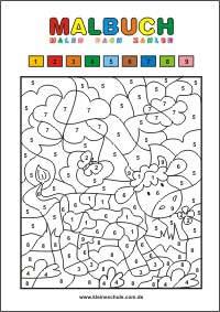 kostenlose malvorlage zum ausdrucken - kleine schule