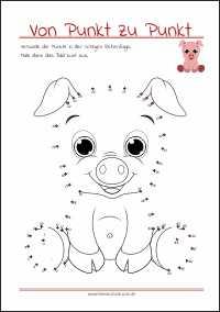 punkte verbinden pdf | kinder ausmalbilder
