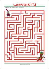 Labyrinth - Kleine Schule