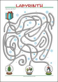 Labyrinth Kleine Schule